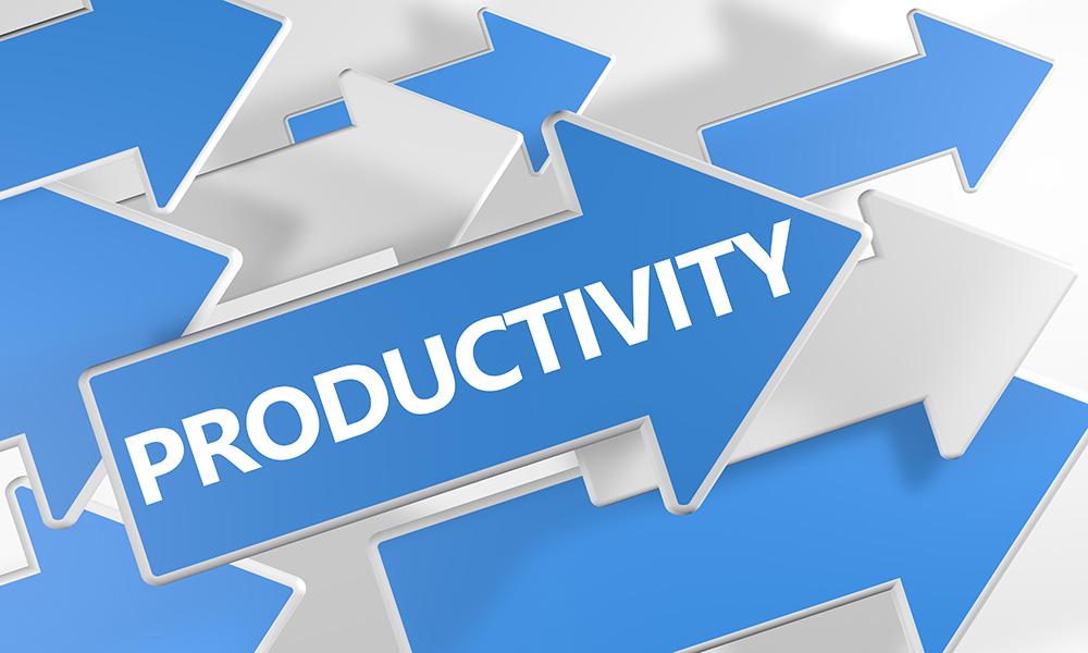 Produttività in aumento