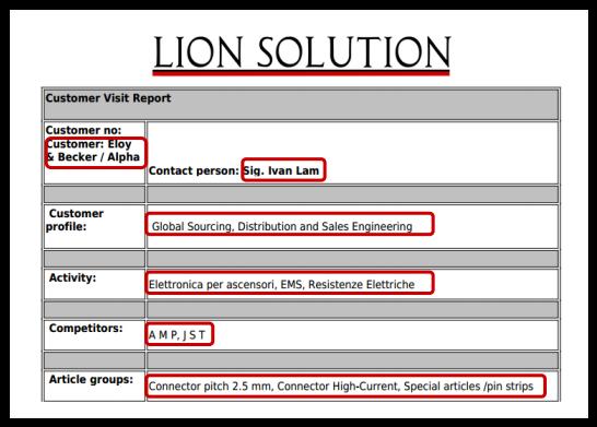 Stampare un report, generando un file PDF