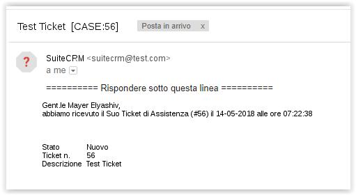 Test Ticket